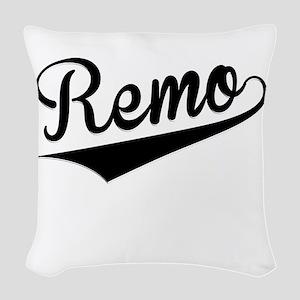 Remo, Retro, Woven Throw Pillow