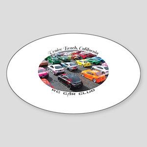 Venice Beach Rc Car Club Sticker