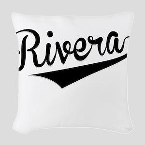 Rivera, Retro, Woven Throw Pillow