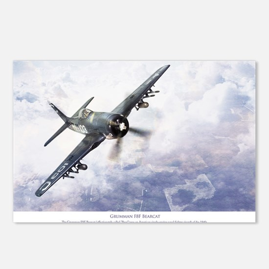 F8F Bearcat Postcards (Package of 8)