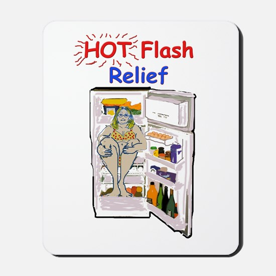 Hot Flash Relief Mousepad