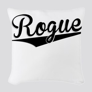 Rogue, Retro, Woven Throw Pillow