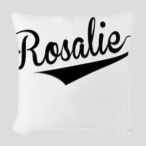 Rosalie, Retro, Woven Throw Pillow