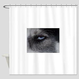max_eye Shower Curtain