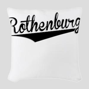 Rothenburg, Retro, Woven Throw Pillow