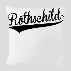 Rothschild, Retro, Woven Throw Pillow