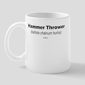 Latin Hammer Mug