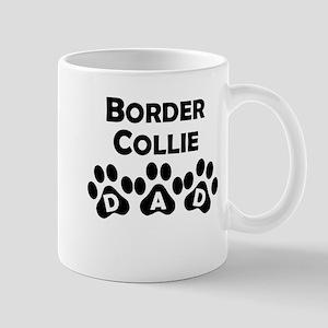 Border Collie Dad Mugs