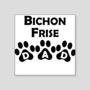 Bichon Frise Dad Sticker