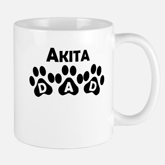Akita Dad Mugs