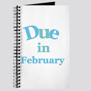 Blue Due in February Journal