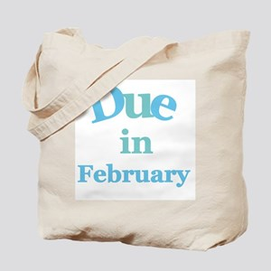 Blue Due in February Tote Bag