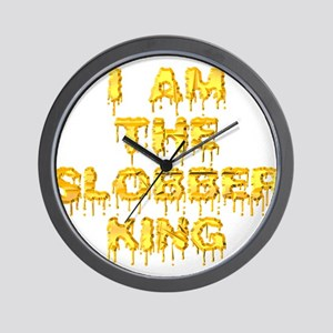 slobber_king Wall Clock