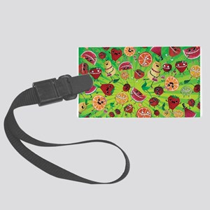Cute Fruit Pattern Luggage Tag