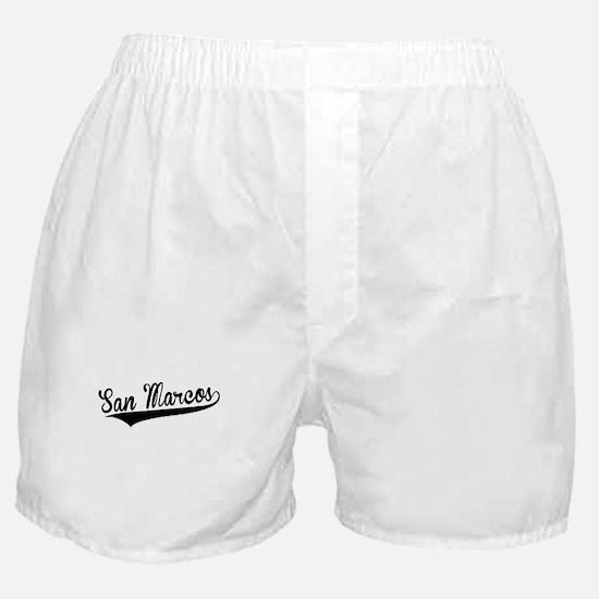 San Marcos, Retro, Boxer Shorts