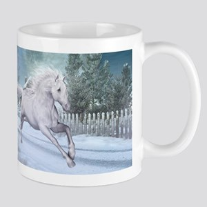 Freedom in the snow Mugs