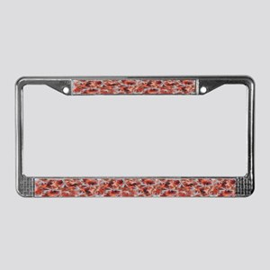 Dragonfly Flit Autumn Haze License Plate Frame