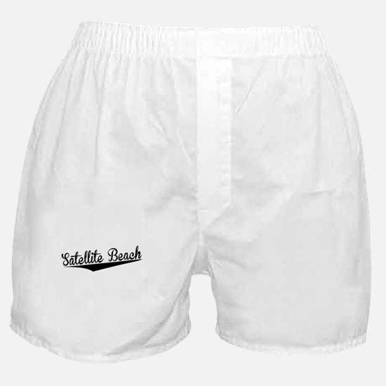 Satellite Beach, Retro, Boxer Shorts