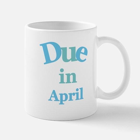 Blue Due in April Mug