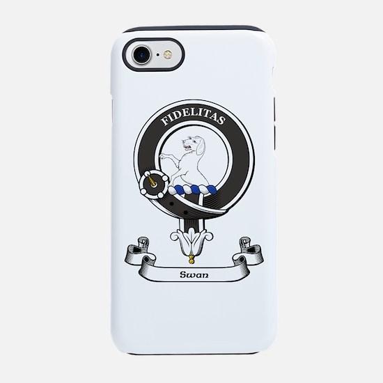 Badge-Swan iPhone 7 Tough Case