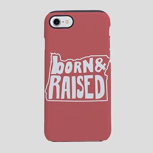 Oregon Born & Raised iPhone 7 Tough Case