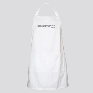A bit of insanity BBQ Apron
