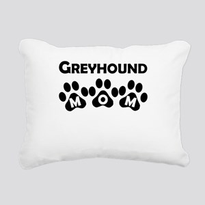 Greyhound Mom Rectangular Canvas Pillow