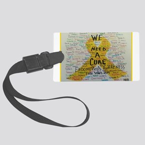 WE NEED A CURE Luggage Tag
