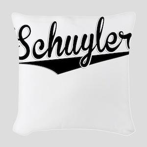 Schuyler, Retro, Woven Throw Pillow