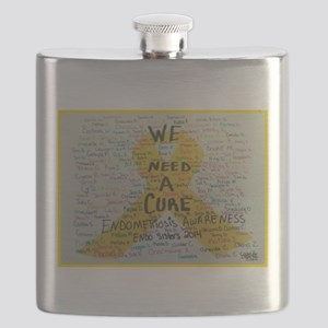 WE NEED A CURE Flask