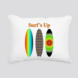 surfsup Rectangular Canvas Pillow