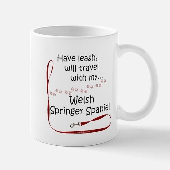 Welsh Springer Travel Leash Mug