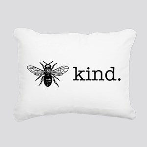 Be Kind Rectangular Canvas Pillow