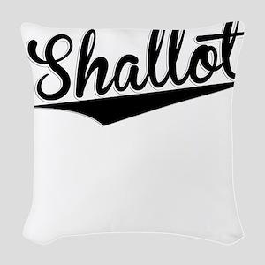 Shallot, Retro, Woven Throw Pillow