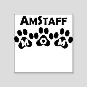 AmStaff Mom Sticker