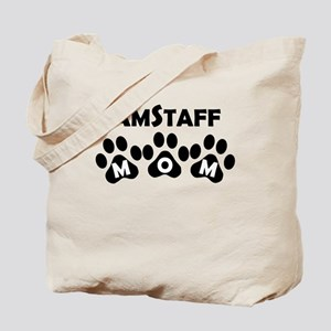 AmStaff Mom Tote Bag