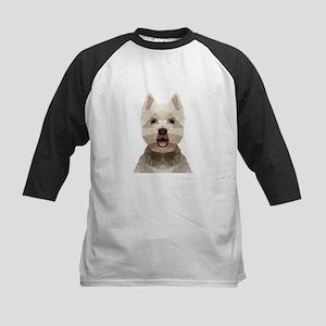Dog (Low Poly) Baseball Jersey