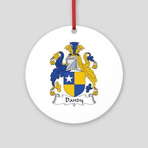 Dandy Ornament (Round)