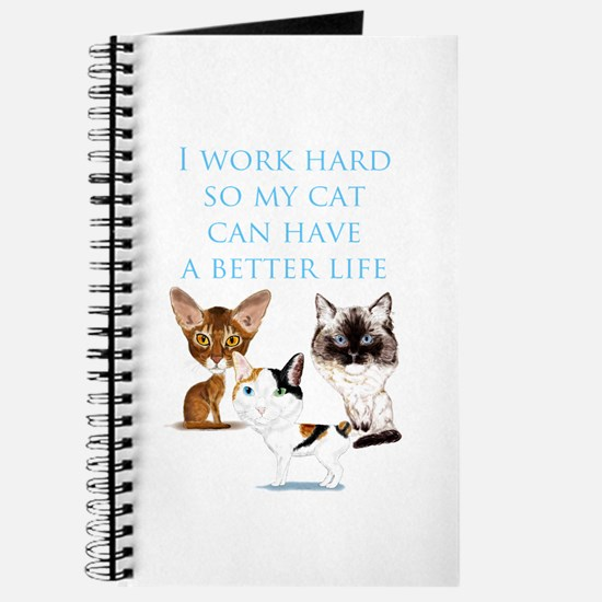 I work hard Journal