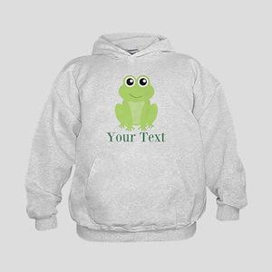 Personalizable Green Frog Hoodie