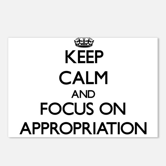 Keep Calm And Focus On Appropriation Postcards (Pa