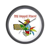Happy hour Wall Clocks