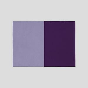 Two Tone - Purple 5'x7'Area Rug