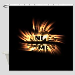 Burning Hunger Games Shower Curtain