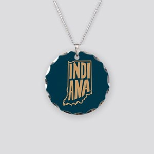 Indiana Necklace Circle Charm
