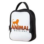 Animal Warriors Neoprene Lunch Bag