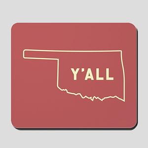Oklahoma Y'All Mousepad