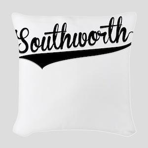 Southworth, Retro, Woven Throw Pillow