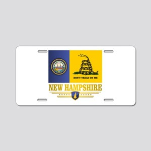 New Hampshire Gadsden Flag Aluminum License Plate