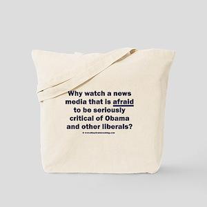 Coward News Media Tote Bag